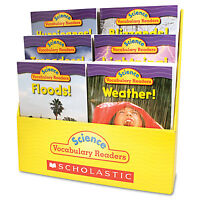 Scholastic Science Vocabulary Readers: Wild Weather 36 Books/six Titles And on sale