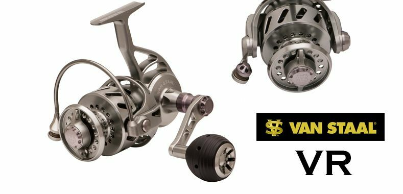 Van Staal VR Series Saltwater Reel, FREE BRAID & LEADER MATERIAL & SHIPPING