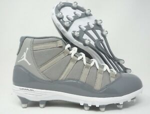 01cf6f8875065c Air Jordan Retro 11 TD Mens Football Cleats Cool Grey Size 12