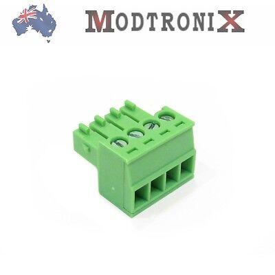 4 Way/Pin 3.5mm Terminal Block Plug, Phoenix Cmptble, SYD COMBINED Post