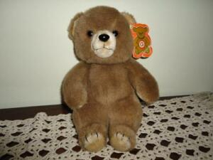 Vintage-Quality-Plush-Montreal-Quebec-Canada-BRENTWOOD-BEAR-Hand-Crafted
