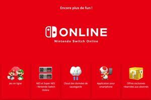 Abonnement Nintendo Switch Online (1 an) Exp: 26 novembre 2021