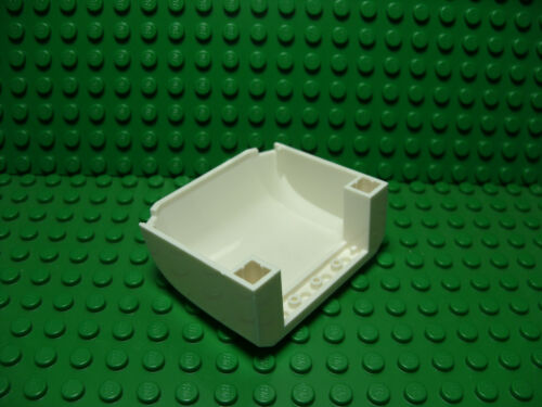 Lego NEW white 5 x 6 x 2 windscreen slope piece