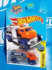 Hot Wheels 2017 HW City Works Series #144 Fast Gassin Fuel Truck UNION 76