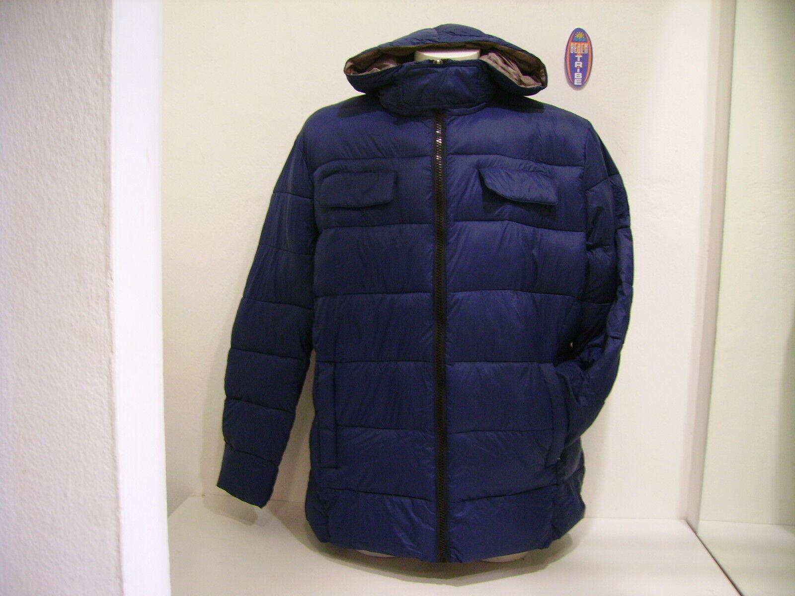 SCORPION BAY GIUBBOTTO CAPPUCCIO men IMPERMEABILE MJK2841PL NAVY blue L