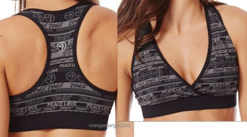 Level Zumba Top N Rare L Embrace V Love Stylish Mid Support M S Bra Peace xHwIKHfqTR