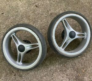 Baby-Jogger-City-Mini-Single-Double-Pair-of-Back-Rear-wheels-Spare-Replacement
