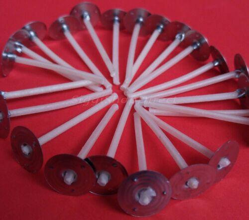 5 cm de long pour candle making top qualité 110 pc pré ciré mèches avec onglet 50 mm