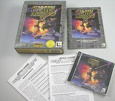 Star Wars Rebel Assault II 2 The Hidden Empire PC englisch deutsch MS-DOS Bigbox