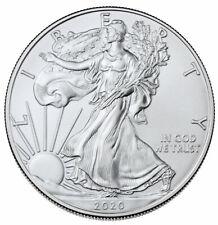 2020 1 oz American Silver Eagle $1 Coin GEM BU SKU59436