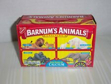 Nabisco Barnums Animal Crackers Box Cage Unopened Discontinued