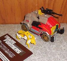 Transformers Generations BLASTER Complete Foc Figure w Steeljaw & Manual