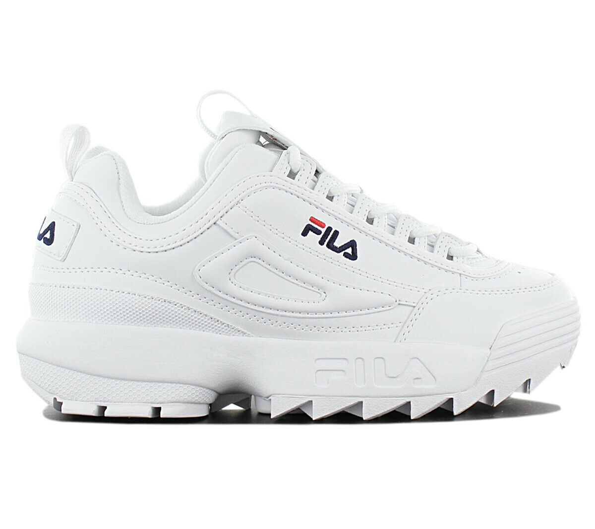 Fila Disruptor Low W Women's Sneaker Shoes 1010302.1FG White Casual Trainers
