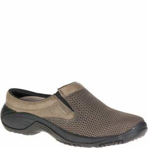 Merrell-Men-039-s-Encore-Bypass-Slip-On-Shoe-mesh-upper-featuring-leather-trims