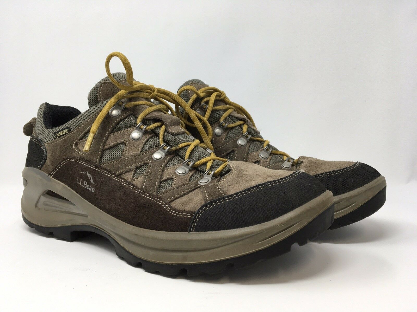 on sale 2b9a4 cf5bc LL Bean Mens shoes Low Lace Up Hiking Sneakers Made in Beige Size 12 M. NIKE  AIR JORDAN ...