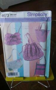 Oop-Simplicity-4673-summer-handbags-five-styles-ruffled-boho-NEW