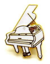 Pin Spilla Pianoforte A Coda cm 2,6 x 1,8 - (AIM PGHPA USA) - (Cod. M130)