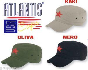 nuova collezione il più grande sconto ultime versioni Details about CHE GUEVARA Cappello ARMY FIDEL berretto STELLA ROSSA  cappellino ATLANTIS caps