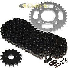 Black O-Ring Drive Chain & Sprockets Kit Fits HONDA CM400A CM400C CM400E CM400T