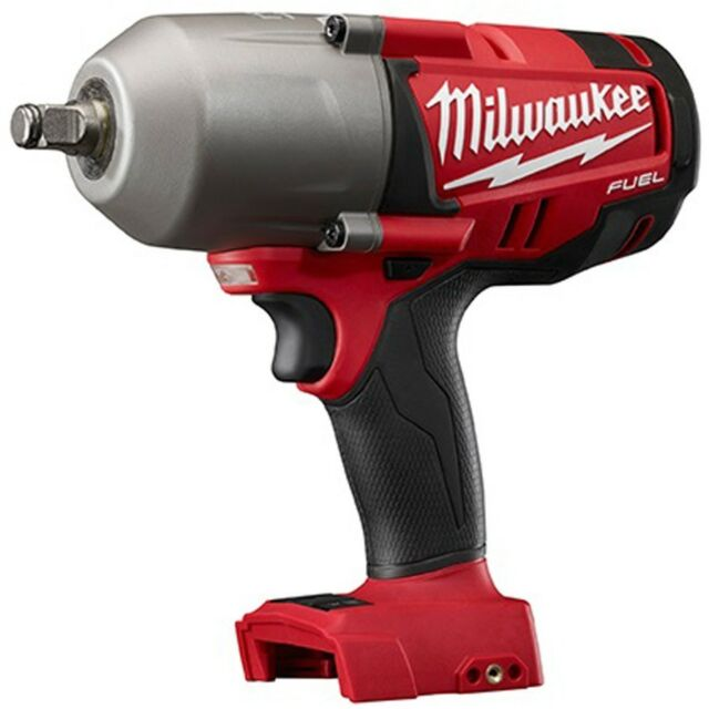 "Milwaukee 2763-20 Cordless M18v FUEL 1/2"" High Torque Impact Wrench NEW w/ Ring"