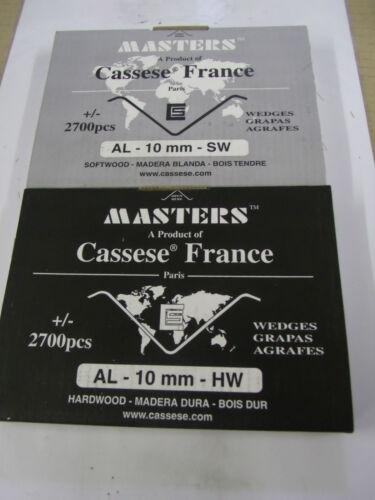 Sr. Cassese Xs Al Cuñas 2700 P//box soft//hard Madera Diferentes Tamaños Para Alfamacchine