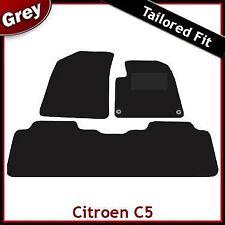 Citroen C5 Mk1 2001-2007 Fully Tailored Fitted Carpet Car Floor Mats GREY