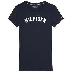88a17c5b734dc Image is loading Tommy-Hilfiger-Women-Organic-Cotton-Short-Sleeved-Crew-