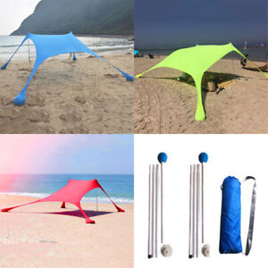 sports shoes 25e36 03c62 Details about Waterproof Tent Tarp Canopy Camping Beach Sun Shelter  Sunshade UV Protection