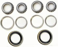 Front Wheel Bearing & Race & Seal Kit For 1960-1967 Ford F100 Pickup (rwd)