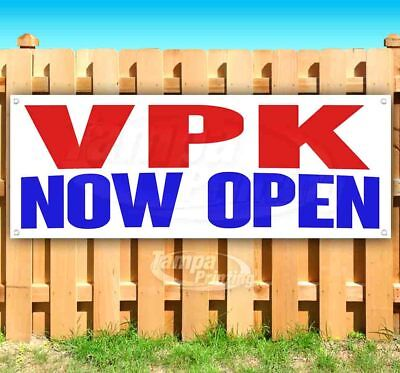 New Many Sizes Available Store Flag, Advertising Free VPK 13 oz Heavy Duty Vinyl Banner Sign with Metal Grommets