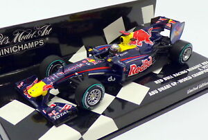 Minichamps-Escala-1-43-410-100105-F1-Red-Bull-Racing-Renault-RB6