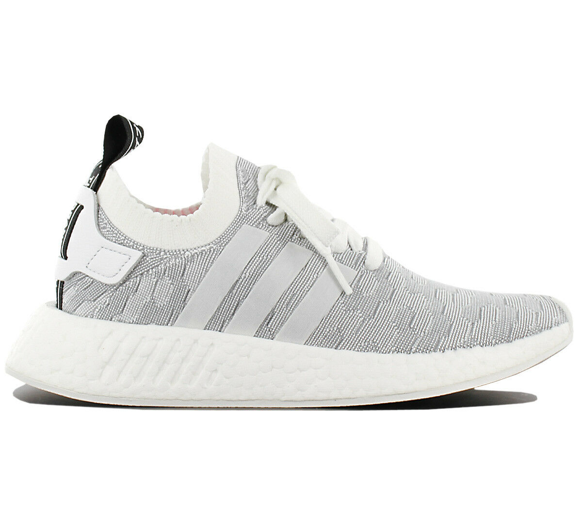 Adidas Originals Nmd R2 Pk W Primeknit Ladies Trainers shoes R1 By9520