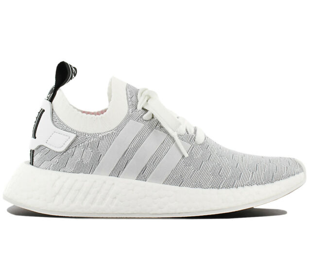 premium selection f6da9 1dc83 Adidas Originals Nmd R2 Pk W Primeknit Women's Trainers Shoes R1 BY9520
