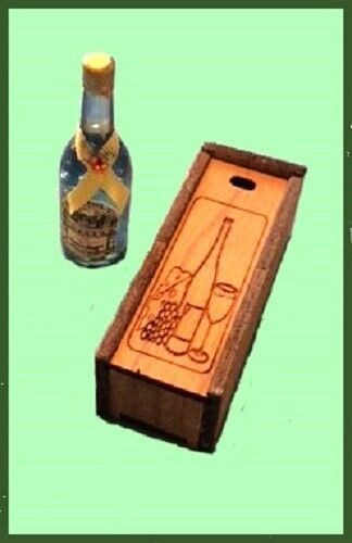 # CREAL 70100 Wine and Cheese On A Board 1:12 for doll house NEW
