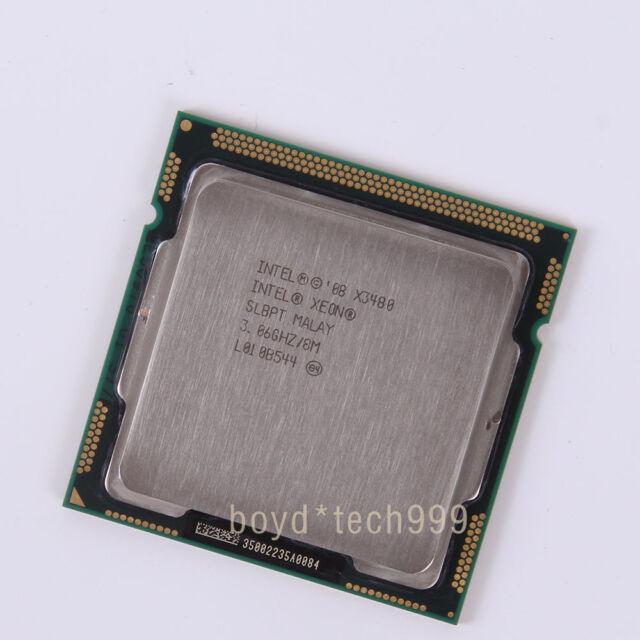 100/% OK SLBPT Intel Xeon X3480 3.06 GHz Quad-Core Processor CPU LGA 1156