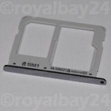 Samsung Galaxy A3 SIM Slot Schlitten Halter A310F Card holder microSD schwarz