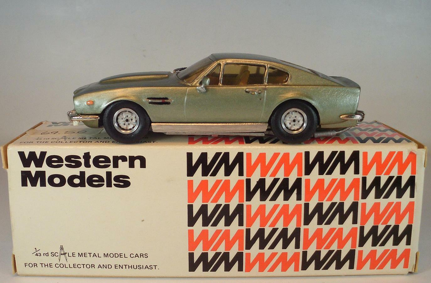 Western ModelllS 1 43 no WP 109 Aston Martin v8 Coupe 1982 OVP
