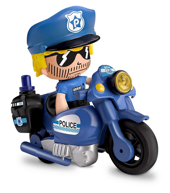 Pinypon - Vehículo pin De Policía incluye su moto y pin Vehículo y pon de policía mix is max 7149dd