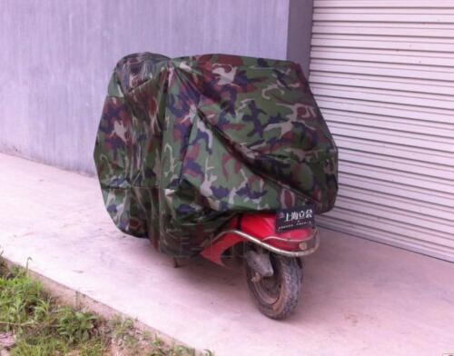 L Outdoor Motorcycle Camo Cover for Kawasaki Vulcan VN 750 800 1500 1700 2000