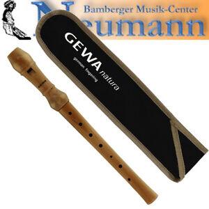 AS Blockflöte Student Sopran in C Flöte Holz Ahorn