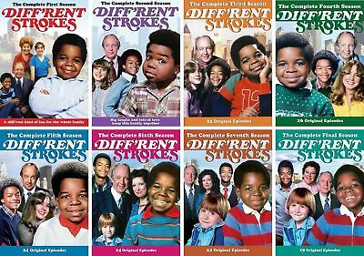 Diff'rent Different Strokes TV Series Complete All Season 1-8 DVD ...