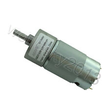1pcs New Jgb37 550 Dc12v High Torque Turbo Worm Gear Dc Motor With Metal Gearbox