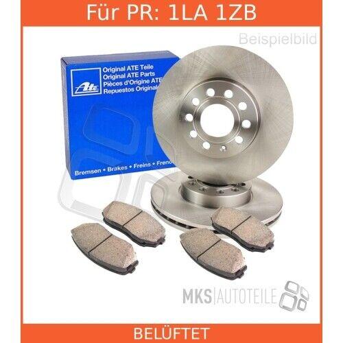 2x DISCHI FRENO ATE Pastiglie Freni Set Completo Anteriore Audi 3394490