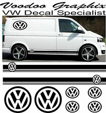 Volkswagen VW Sticker Set Kit logo Decal Stickers X8 Transporter T5 T4 Campervan