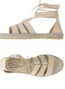 PRISM-ESPADILLES-Shoes-Sandals-beige-Rrp-400-Worn-Once-39-8