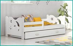 Kinderbett mit bettkasten  Kinderbett Micki 160x80 cm Bett mit Matratze Bettkasten ...