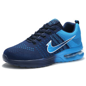 Men-039-s-Classic-Outdoor-Running-Sports-Athletic-Sneakers-Flyknit-Air-Cushion-Shoes