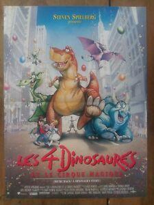 Affiche-LES-4-DINOSAURES-et-le-CIRQUE-MAGIQUE-Manga-SPIELBERG-40x60cm