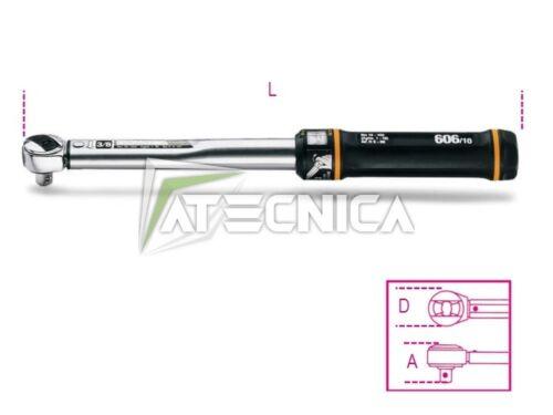 Chiave dinamometrica Beta 606/30 Q1/2 330NM cricchetto scatto reversibile 606/30