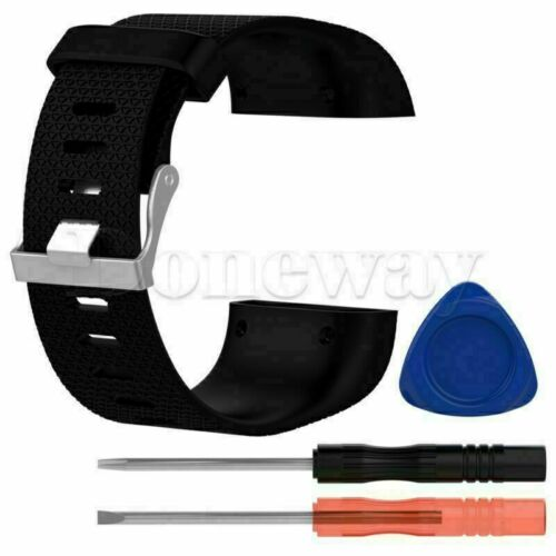Tool Kits For Fitbit Surge L//S Silicone Replacement Band Wrist Strap Bracelet